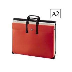LIHIT A2萬用袋 橘色 A-7632-4