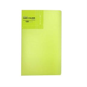 PLUS V266 名片本120P 黃綠