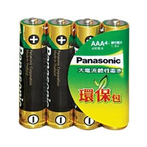 Panasonic國際牌大電流鹼性電池 4號
