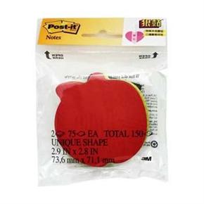3M Post-it 7350-APL 蘋果造型很黏便條紙