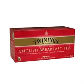 TWININGS唐寧茶 英倫早餐茶(2g*25入)