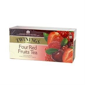TWININGS唐寧茶 四紅果茶(2g*25入)