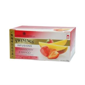 TWININGS唐寧茶 草莓芒果茶(2g*25入)