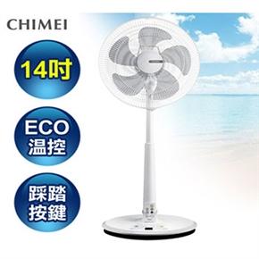 CHIMEI奇美 14吋DC馬達ECO遙控擺頭立扇風扇 電風扇-高階款 DF-14A0ST