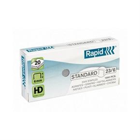 Rapid 23-6 釘書針 (1000支入)