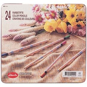 百利代 CC-224 色鉛筆 原木印花 24色