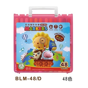 雄獅  BLM-48C 48色彩色筆