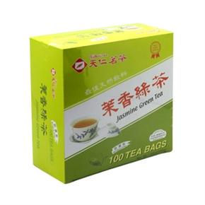 天仁 茉莉綠茶隨身鋁箔防潮茶包(盒)