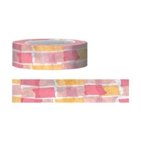 (在庫*3)知音文創 Funtape 紙膠帶 15mm 15M 粉色