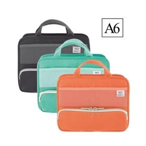 LIHIT A6橫式多功能袋中袋 橘色 A-7662-4