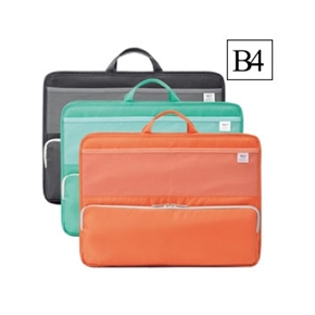 LIHIT B4橫式多功能袋中袋 綠色 A-7665-7