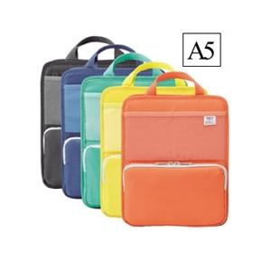 LIHIT A5直式多功能袋中袋 橘色 A-7667-4