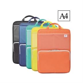 LIHIT A4直式多功能袋中袋 黃色 A-7668-5