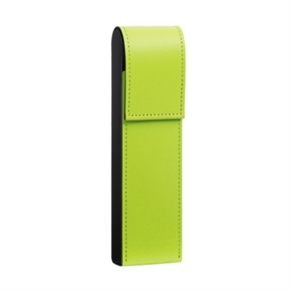 LIHIT 皮革筆盒 黃綠色