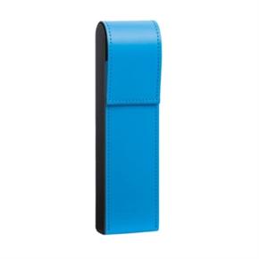 LIHIT 皮革筆盒 藍色 D1081-8