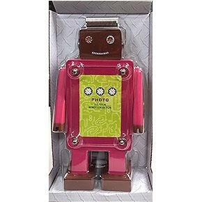 (在庫*1)知音文創 變形小相框 紅色機器人