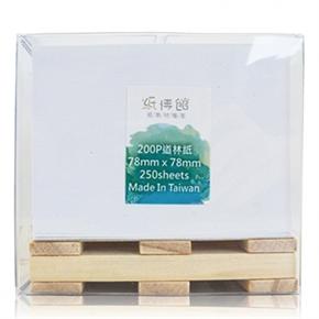 紙博館 TP-01 迷你彩色便條紙棧板 道林紙