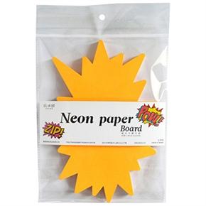 紙博館 NPB-01D 螢光卡標示牌 (驚爆)