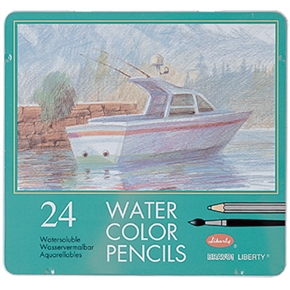利百代 水溶性色鉛筆 24色