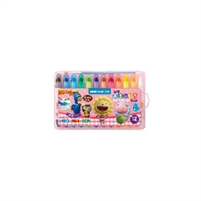 雄獅CY101超滑水溶性蠟筆(粉紅盒)