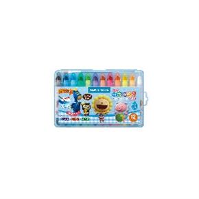 雄獅CY101超滑水溶性蠟筆(藍盒)