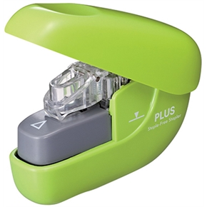 PLUS SL-106NB無針釘書機 綠