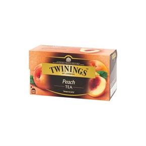 TWININGS 香甜蜜桃茶 (2g*25入)