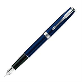 派克 商籟 海洋白夾 鋼筆