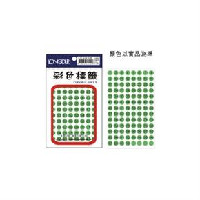 龍德 LD-532-R 圓型螢光數字標籤 紅