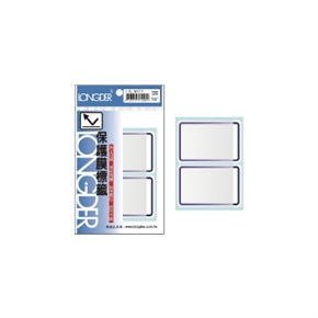 龍德 LD-3012 保護膜標籤 藍框