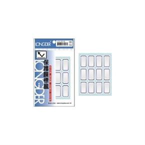龍德 LD-3018保護膜標籤藍框