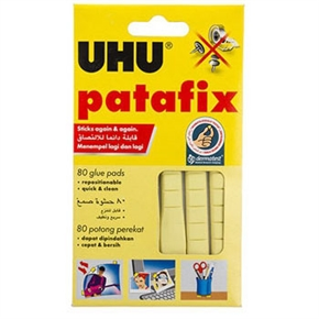 UHU-001 60G萬用黏土 黃色