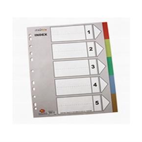 HFP IX901  11孔5張塑膠分類紙(A4)