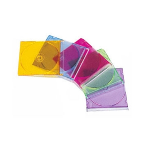 CD盒1片裝(超薄)塑膠盒