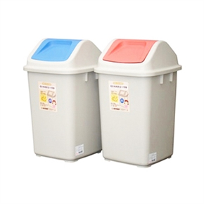 聯府 CV-920環保媽媽附蓋垃圾桶