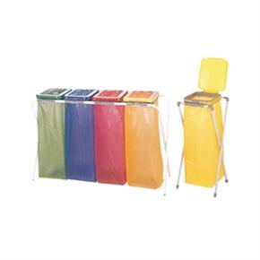 SP-03折疊式分類回收架-三分類