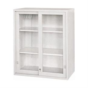 Y104-6 玻璃加框拉門上置式公文櫃