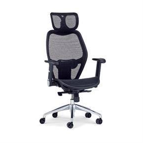 Y165-5 大型辦公椅(黑網)