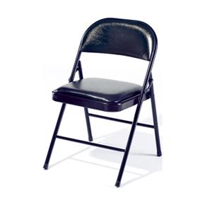 Y191-12 黑色皮合椅