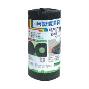 台塑捲筒清潔袋 (垃圾袋)超特大黑