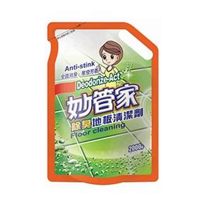 妙管家FMB200 除臭地板清潔劑補充包-田園馨香