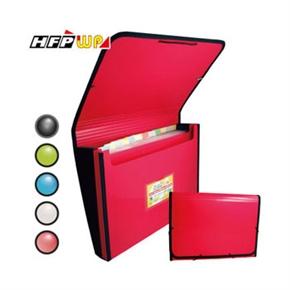 HFP 41311-SN 風琴夾+收納盒(東方紅)