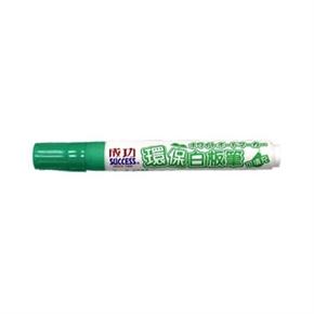 成功success 1307-4環保可填充白板筆 綠(特價) 12入一打
