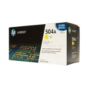 HP 原廠碳粉匣 CE252A 黃色