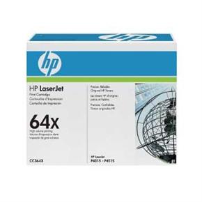 HP 原廠碳粉匣 CC364X 黑色
