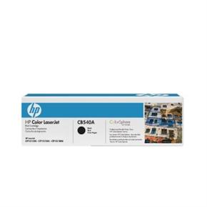 HP 原廠碳粉匣 CB540A 黑色