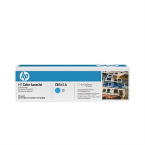 HP 原廠碳粉匣 CB541A 藍色