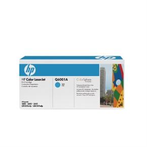 HP 原廠碳粉匣 Q6001A 藍色