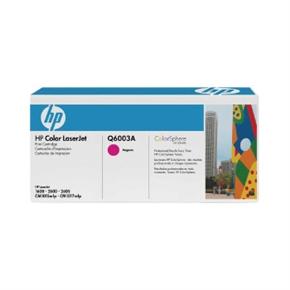 HP 原廠碳粉匣 Q6003A 紅色
