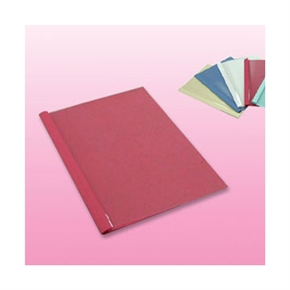 1706-04 6MM (膠裝封套) 熱可膠夾 紅